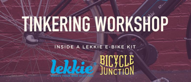 Tinkering Workshop: Inside a Lekkie E-Bike Kit: CANCELLED