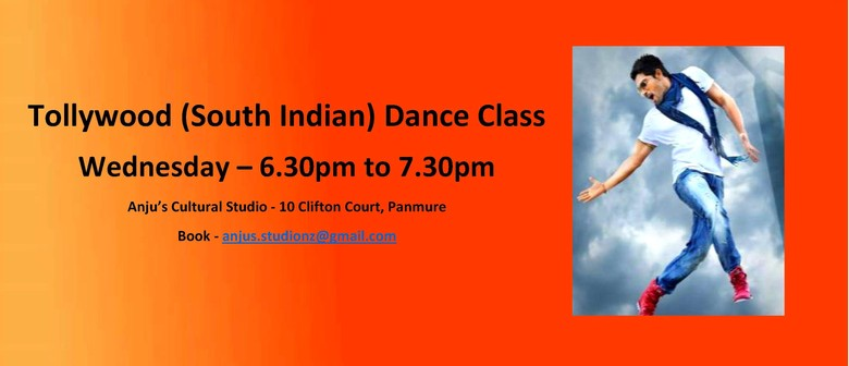 Tollywood (South Indian) Dance Class