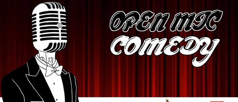 Comedy Open Mic - Grandpa Figs Launch Night
