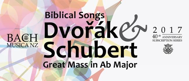 Dvořák and Schubert