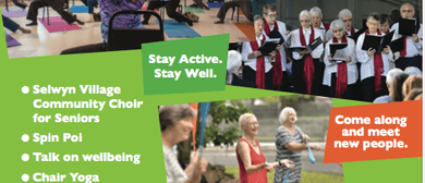 International Older Persons Day - Stay Active, Stay Well
