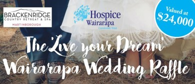 The Live Your Dream Wairarapa Wedding Raffle
