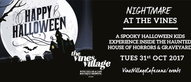Nightmare At The Vines - The Haunted House Of Horrors