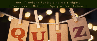 Hutt Timebank Fundraising Quiz Nights
