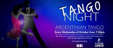 Wednesday - Tango Night