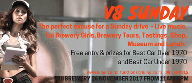 V8 Sunday - Cars, Music, Girls and Beer