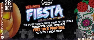 Fiesta Latina Halloween - Dia de los Muertos