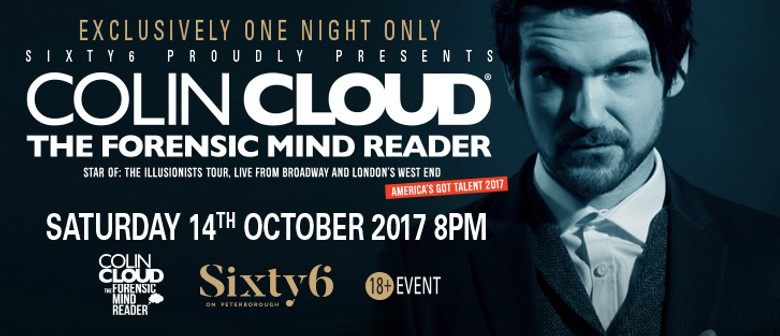 Colin Cloud - The Forensic Mind Reader