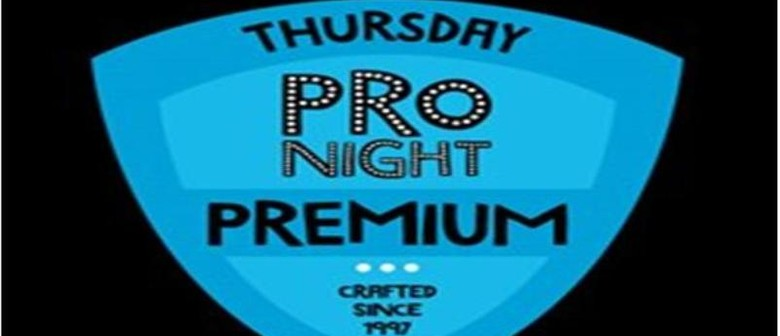 Thursday ProNight: Premium Comedy