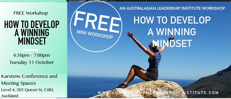 Free workshop: How To Develop A Winning Mindset