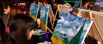 Art in Bloom Social Painting Workshop: Paint like Gabbiani