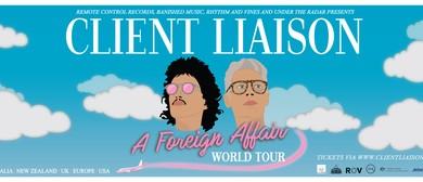 Client Liaison - A Foreign Affair NZ Tour