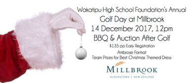 Wakatipu High School Foundation Millbrook Golf Day