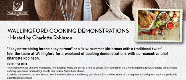 Wallingford Cooking Demonstrations