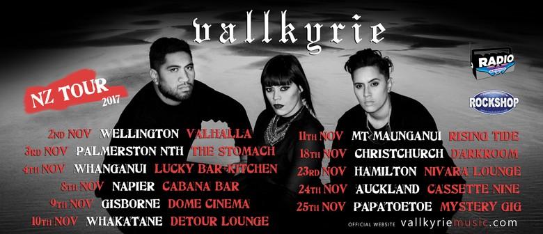 Vallkyrie NZ Tour + Rei