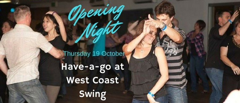 Have a Go At West Coast Swing - Opening Night