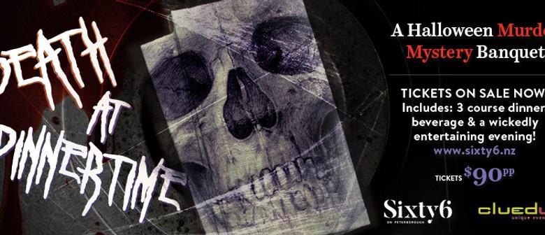Death at Dinnertime - A Halloween Murder Mystery Banquet