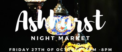 Ashhurst Night Market