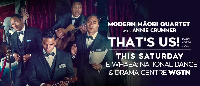 Modern Maori Quartet with Annie Crummer