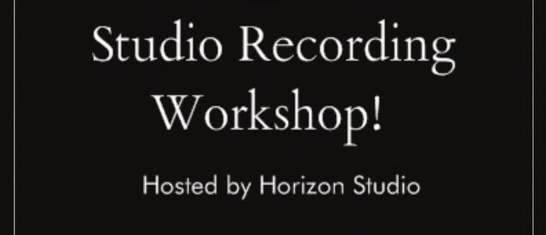 Studio Recording Workshop
