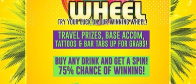 Winning Wheel Wednesdays - Backpacker and Student Night