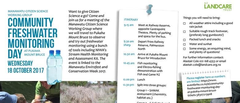 Community Freshwater Monitoring Day