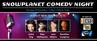 Snowplanet Comedy Night