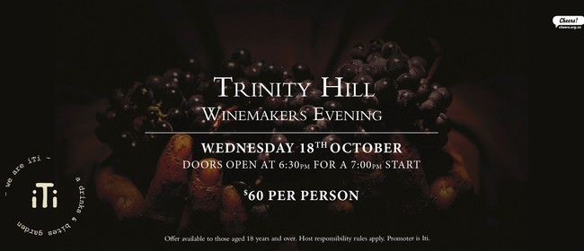Trinity Hill Winemakers Dinner