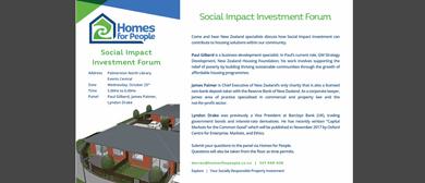 Social Impact Investment Forum