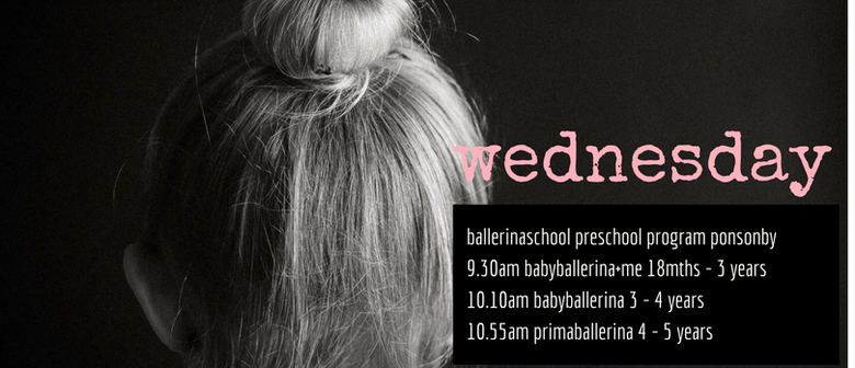Ballerinaschool Ponsonby Preschool Program
