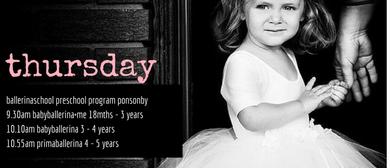 Ballerinaschool Ponsonby Preschool Program