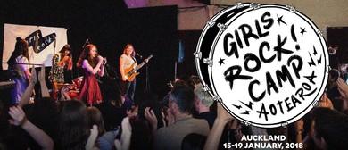 Girls Rock! Camp Aotearoa