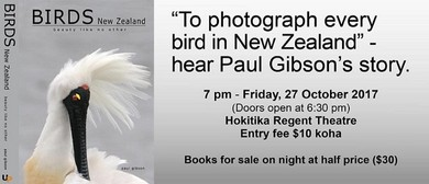To Photograph Every Bird In New Zealand