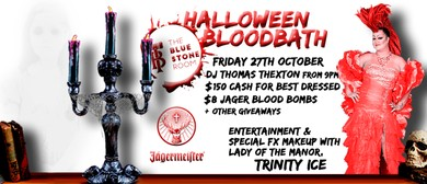 The Bluestone Room Halloween Bloodbath