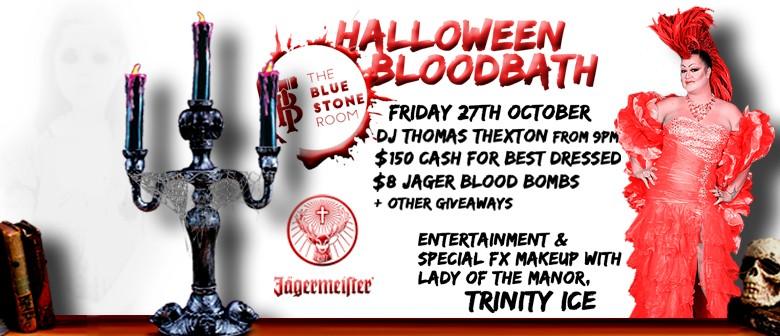 The Bluestone Room Halloween Bloodbath