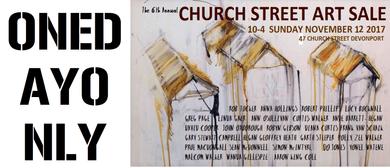 The Church Street Art Sale