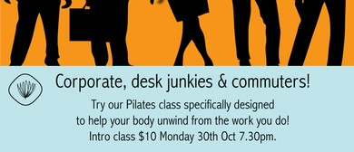 Pilates for Corporate, Desk Junkies & Commuters