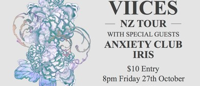 Viices NZ Tour With Anxiety Club Iris