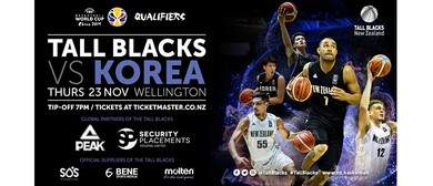 Tall Blacks vs Korea