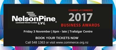 NPI Nelson Tasman Chamber of Commerce Business Awards 2017