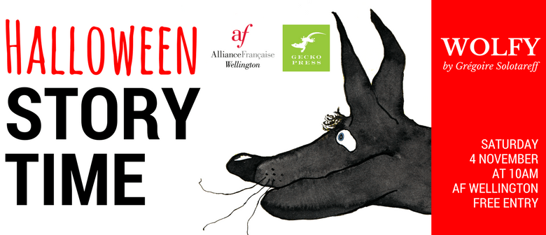Halloween Storytime - Wolfy by Grégoire Solotareff