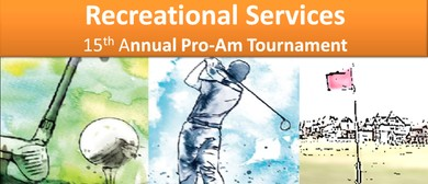 Recreational Services 15th Annual Pro-Am Golf Tournament