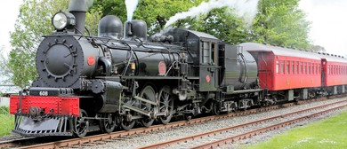 Marlborough Flyer Steam Train Super Sunday Special