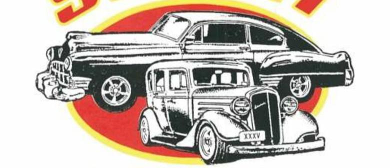 Show N Shine Hot Rod Car Display