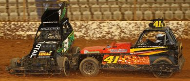 Baypark Bulldogs Stock Car Teams Race