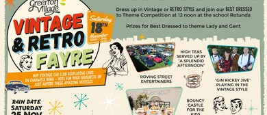Vintage and Retro Fayre