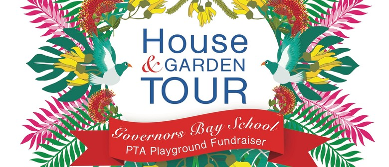 Governors Bay House and Gardens Tour