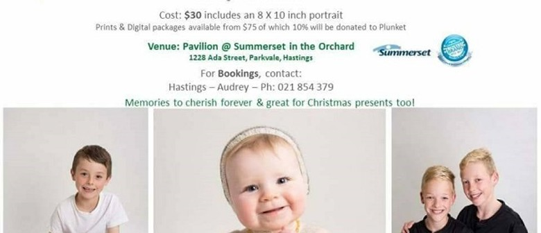 Hastings Plunket Photo Fundraiser with Michelle Fey