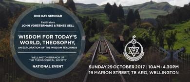 1-Day Seminar - Wisdom in Today's World - Theosophy
