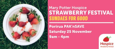 Mary Potter Hospice Porirua Strawberry Festival 2017